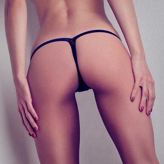 Ass thong Sexy