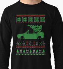 Golf 1 MK1 Convertible Christmas Ugly Sweater XMAS Lightweight Sweatshirt