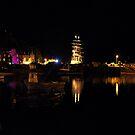 Tobermory Bay At Night by RicheRifkind