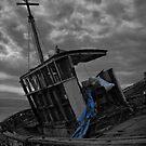 Old Wrek by RicheRifkind