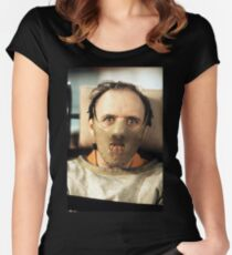 Hannibal Lecter Women's Fitted Scoop T-Shirt