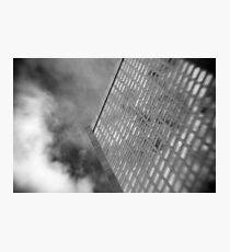 Office Tower With Reflections Photographic Print