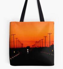 Sunset Run Tote Bag
