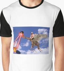 Bashar al-Assad Putin Giraffe Syrian Anti Missile System Graphic T-Shirt