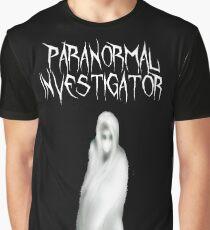 Paranormaler Ermittler Grafik T-Shirt
