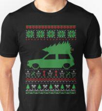 Polo 86C hatchback Noël Ugly Pull XMAS T-shirt unisexe