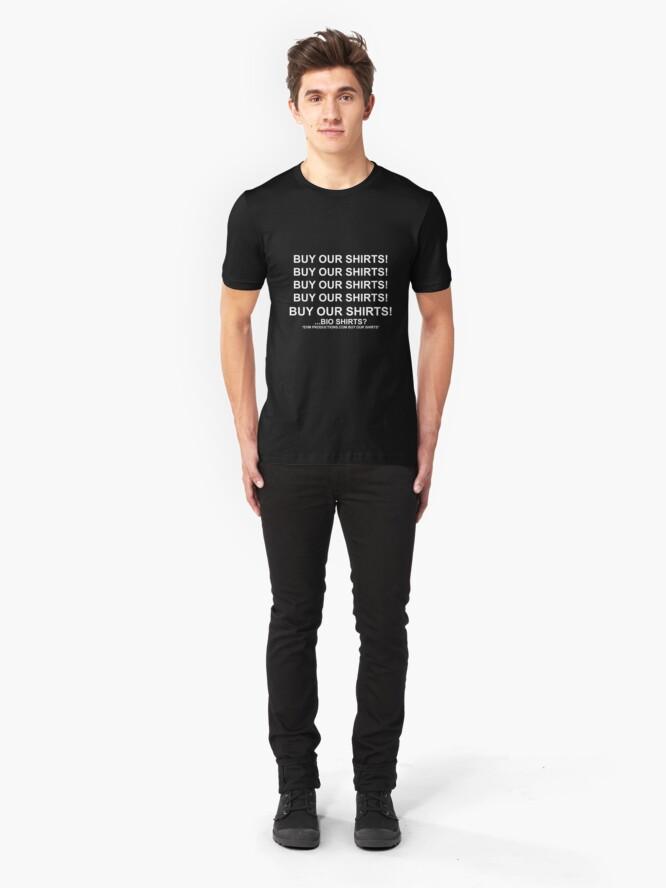 Alternate view of ...Bio Shirts? Slim Fit T-Shirt