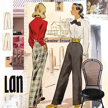 50s Slacks Collage by collageDP