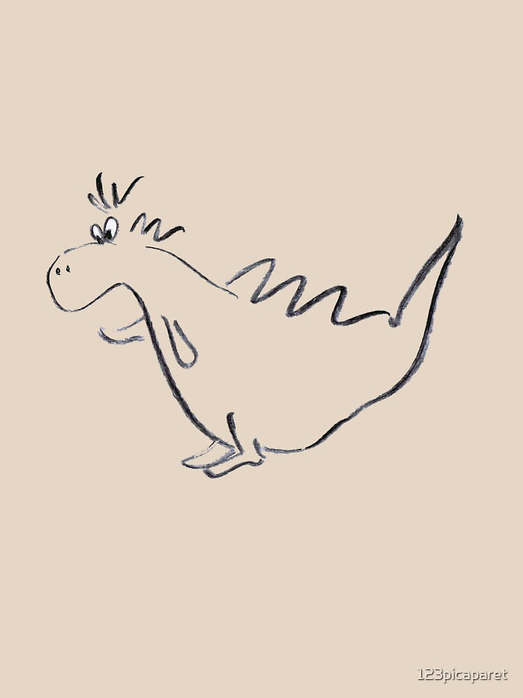 Little dinosaur by 123picaparet