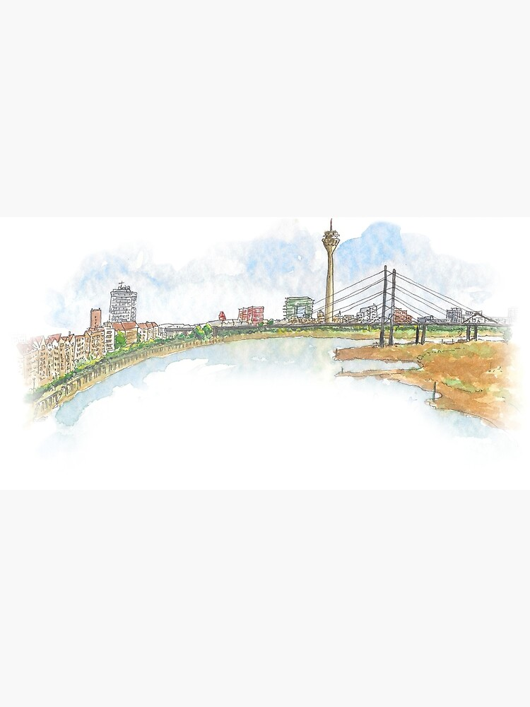 Skyline - Düsseldorf lleva Umlaut blog de dussllevaumlaut