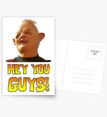 SLOTH - HEY YOU GUYS! Postcards