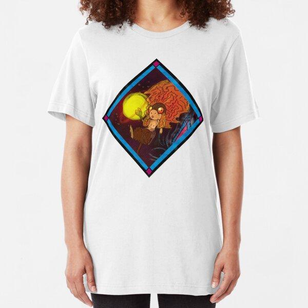 Space Sheep Slim Fit T-Shirt