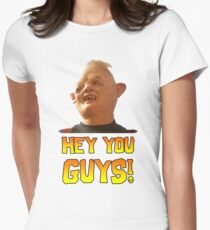SLOTH - HEY YOU GUYS! Women's Fitted T-Shirt