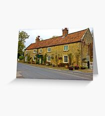 The Tea Rooms Greeting Card