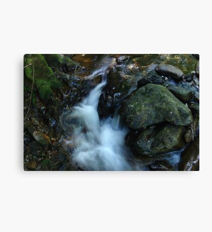 Wonderful Wateryfall Canvas Print