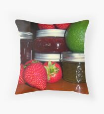 Canning Time Throw Pillow