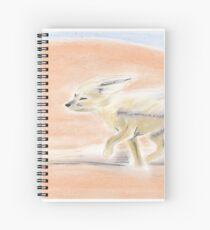 Sand Fox Spiral Notebook