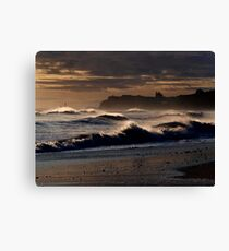 Whitby Seascape Canvas Print