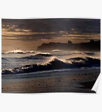 Whitby Seascape Poster