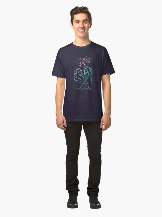 Vista alternativa de Camiseta clásica Submarino