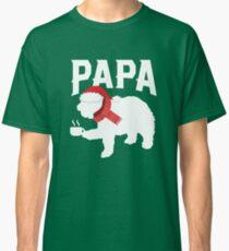 Papa Bear - Mom - Christmas Eve Pajamas - Holiday Shirt Classic T-Shirt