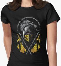 Mortal Kombat - Scorpion Women's Fitted T-Shirt
