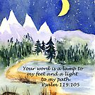 Guidance, Psalm 119:105 by Diane Hall