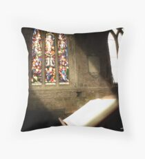 Breedon on the Hill Throw Pillow