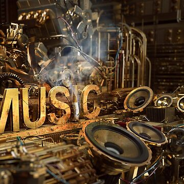 Music Life Art Design by Staytrendy