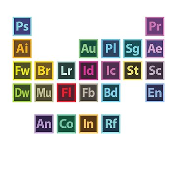 Adobe Table of Elements by 275M