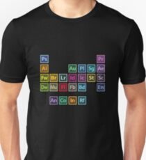 adobe table of elements unisex t shirt - Periodic Table Of Elements Gifts