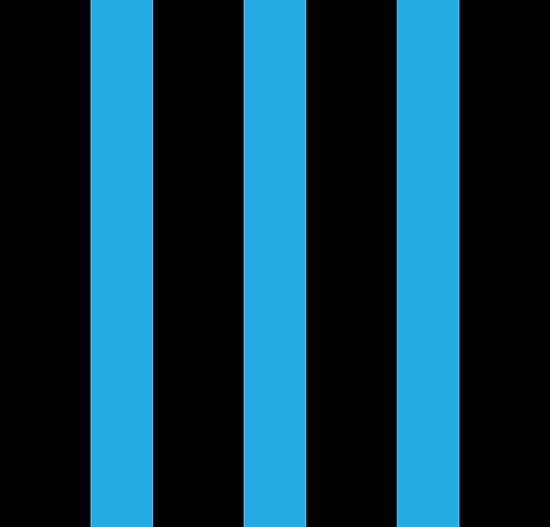 Stripe Vertical Blue No. 1 by MissDewi