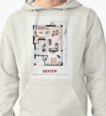 Floorplan of the apartment from DEXTER - V.1 Pullover Hoodie