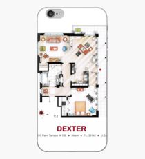 Floorplan of the apartment from DEXTER - v.2 iPhone Case