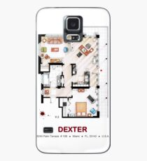 Floorplan of the apartment from DEXTER - v.2 Case/Skin for Samsung Galaxy