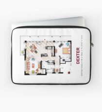 Floorplan of the apartment from DEXTER - v.2 Laptop Sleeve