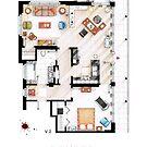 Floorplan of the apartment from DEXTER - v.2 by Iñaki Aliste Lizarralde