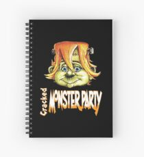 CRACKED Monster Party (cracked magazine) Spiral Notebook