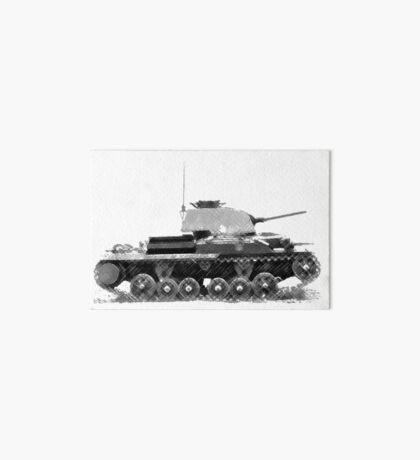 a cool tank Art Board