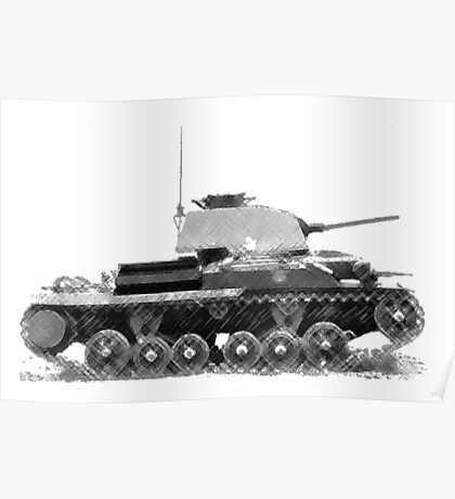 a cool tank Poster