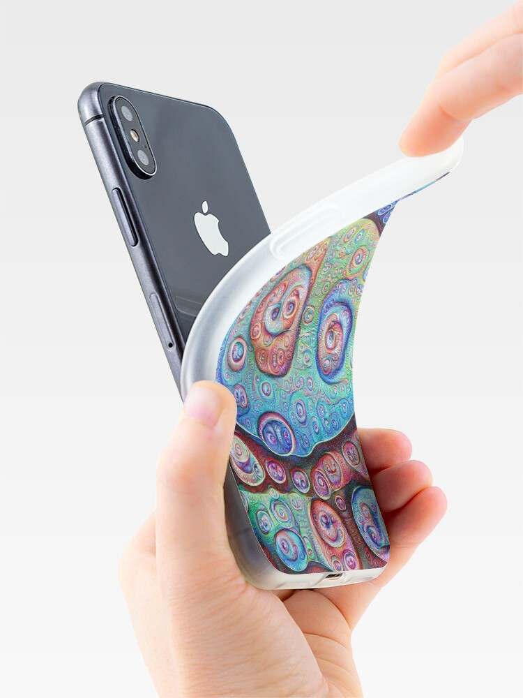 Alternate view of #DeepDream Ice iPhone Case & Cover