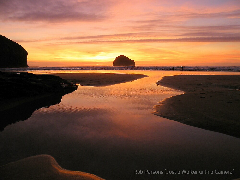 Cornwall: Pastel Reflections by Robert parsons