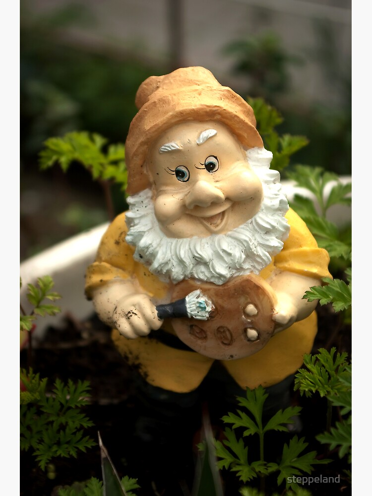 Painty the Garden Gnome by steppeland