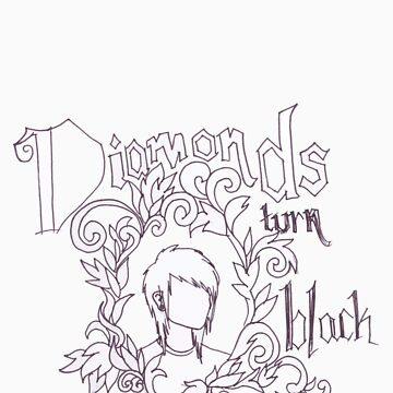diamonds turn black by blackenediamond