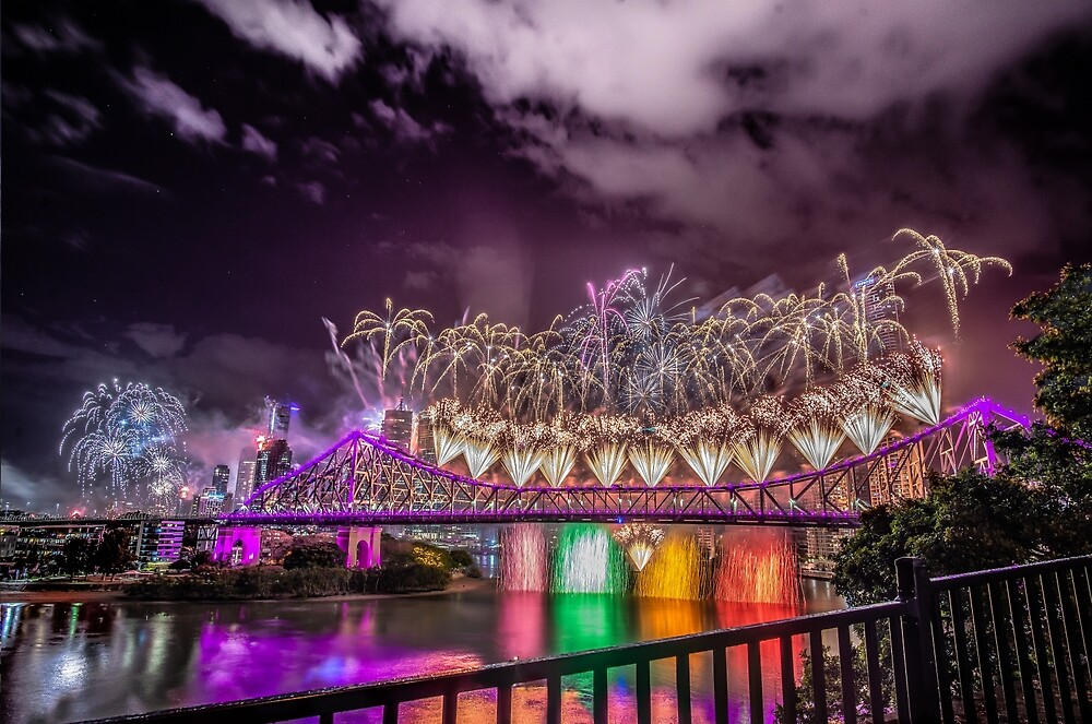 Brisbane Riverfire 2018 by Apatche Revealed