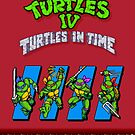 TMNT Turtles in Time by SlickVic
