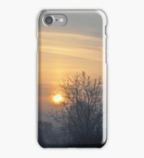 Winter morn. iPhone Case/Skin