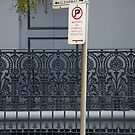 Sorry Officer, I Was Dying To Park Here by David McMahon