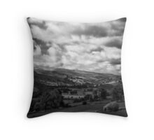 Swaledale sunshine, almost Throw Pillow