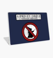 No magic allowed Laptop Skin